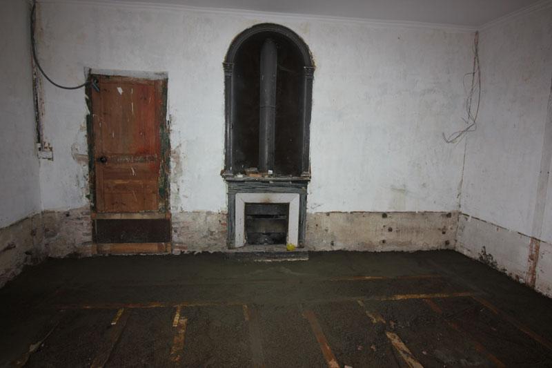 houtenframe vloer