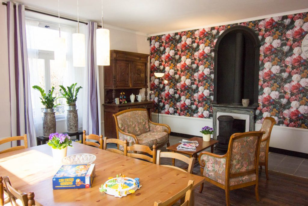 Salon chambres d'hôtes